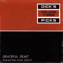 Grateful Dead - Dick's Picks Vol. 3 (Caine Schneider) Tags: florida gratefuldead 1977 sportatorium pembrokepinesfl dickspicks 19770522