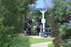 "Lunchtime grub at the grill gazebo • <a style=""font-size:0.8em;"" href=""http://www.flickr.com/photos/27717602@N03/26868484494/"" target=""_blank"">View on Flickr</a>"