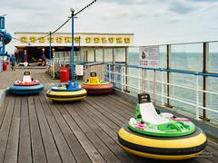 Dodgems Deluxe (cybertect) Tags: pier seaside isleofwight sandown dogemcar sonya7 canonfd35mmf2ssc