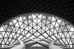 Flying saucer (pooly7) Tags: london station king cross wide architexture hexa skancheli
