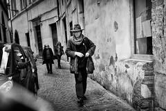 The spy (amira_a) Tags: street rome roma strada fuji secret streetphotography spy fujifilm x100 x100s