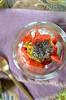 verrine ricotta fraise graines chia (zesttangerine) Tags: dessert chia passion ricotta fraise fruitdelapassion végétarien verrine grainesdechia