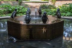 Pinguinbrunnen Stadtpark (Elbmaedchen) Tags: hamburg stadtpark pinguinbrunnen