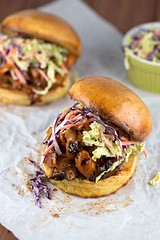 Grilled Barbecue Pul (alaridesign) Tags: grilled barbecue pulled chicken sandwiches with coleslaw