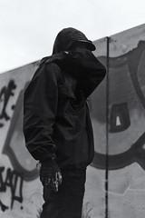 VERF (Tiba Hobus) Tags: portrait film writing painting graffiti paint grain tags vandalism and writer portret zwart wit bombing verf filmgrain throws vandalisme shootfilm tagsandthrows