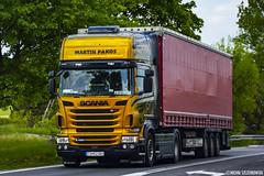 Scania R420 II Topline (Micha Szczerbowski) Tags: martin ii airbrush scania firanka topline pakos r420 naczepa