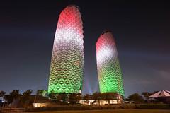 Oliver Bruns-10.jpg (oliverbruns) Tags: night lights al day towers uae national abudhabi abu dhabi nationalday bahr albahrtowers