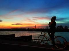 2016-06-01  Sunset (Steven Weng) Tags: camera sunset sky clouds taiwan taipei       iphone6  skyfiire