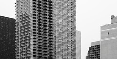 New York Architecture #272 (Ximo Michavila) Tags: city nyc windows sky urban bw usa white newyork abstract building geometric architecture grey blackwhite day cityscape cloudy monochromatic archidose archdaily archiref ximomichavila