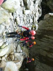 P1120393 (Mountain Sports Alpinschule) Tags: blue mountain sports lagoon canyoning zillertal zemmschlucht alpinschule