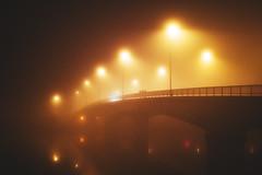 le de la fournaise (LilO Moino) Tags: fog night nuit brouillard nantes iledenantes