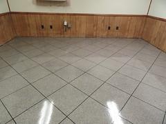 Granite Looking Epoxy tile (Decorative Concrete Kingdom) Tags: tile gray flake epoxy chip