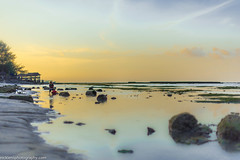 Life at sunset (Nick Lens Photography) Tags: life sunset sky bali beach landscape photography 50mm nikon outdoor goldenhour tiltshift nicklens