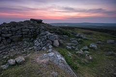 Chapel Carn Brae (Tractorboy1981) Tags: uk sunset england southwest landscape rocks iron cornwall dusk hill wideangle chapel national age trust brae kernow carn d7100 bureal