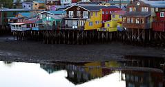 Palafitos de Castro (Sal Andrade) Tags: mar arquitectura castro chilo tpico palafitos