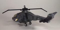 AH-78 Apache (Back) (Dyroth) Tags: us war ship lego military battle moose helicopter vehicle gunship militaryship brickarms legoguns legomilitary legowar legoblackops dyroth customlegovehicle