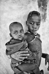 Himba Children (alisdair jones) Tags: africa boy portrait girl children tribe namibia himba ef35mmf14lusm