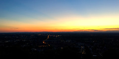 Our free-evening sunset (G. Lang) Tags: city sunset germany deutschland sonnenuntergang stadt karlsruhe allemagne durlach ville coucherdusoleil turmberg badenwrttemberg iphone6s
