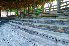 Bench Seats (redhorse5.0) Tags: tennessee grandstand woodenstructure historicstructure middletennessee dekalbcountyfair alexandriatennessee sonya850 redhorse50