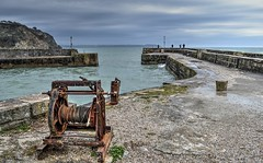 The Harbour Wall At Charlestown (Tilney Gardner) Tags: nikon cornwall harbour southcoast charlestownharbour cornishcoastline