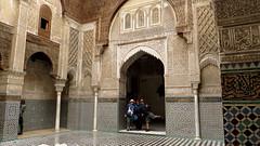Medersa el-Attarine, Fes (macloo) Tags: morocco fez medina fes zellij