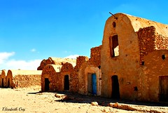 Djerba 2010 175-1...MEDENINE (Elisabeth Gaj) Tags: old travel building architecture tunisia ruin afryka elisabethgaj djerba2010