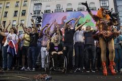 Start of the Gay Pride festivities in Madrid / Inicio de las fiestas del Orgullo Gay en Madrid (Adolfo Lujan) Tags: madrid gay party espaa lesbian spain fiestas transgender lgbt bisexual gaypride humanrights plexi orgullogay mado lesbianas pedrozerolo lgtb transexuales derechoshumanos diversidadsexual sexualdiversity pregnorgullogay mado2016