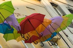 DSC00787b (tomaso.belloni) Tags: city windows urban house color building umbrella outdoors photography colorful europe exterior outdoor poland nobody warsaw