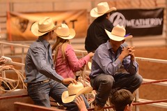 Watch My Hat (Get The Flick) Tags: cowboys fence rodeo cowgirls cowboyhat strawhat georgianationalfairgroundsagricenter georgiahighschoolrodeoassociation