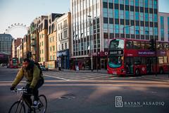 London | Instagram: @bayanalsadiq (Bayan AlSadiq) Tags: street uk travel blue light people sunlight london bigben سفر تصوير لندن بريطانيا bigbin