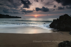 Beach at Sunset (chasingthelight10) Tags: travel sunset nature photography landscapes costarica seascapes events sunsets places corcovado coastal beaches corcovadonationalpark