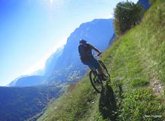 Autumn Riding around Verbier  (74) (Carl and Sian) Tags: orange alps switzerland mtb mountainbiking verbier singletrack orangefive bikeverbier alpinesingletrack carlandsian