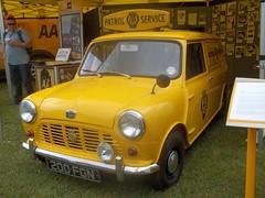 AA Mini Van (occama) Tags: old uk original classic vintage austin automobile cornwall mini 200 british morris van aa association 1964 1963 organisation motoring fgn