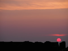 Sunset over the ruins (JKS1988) Tags: sussex southdowns devilsdyke