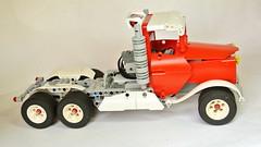Lego Technic Truck (hajdekr) Tags: truck lego lorry camion technic motor remotecontrol heavy rc moc legotechnic myowncreation lmotor sbrick smartrcreceiver