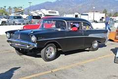 Mooneyes X-Mas Party 2015 (USautos98) Tags: chevrolet chevy 1957 hotrod custom streetrod gasser 210