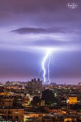 lightning night,Pintung City,Taiwan[Explore] (ShengRan) Tags: landscape night nikon lightning taiwan