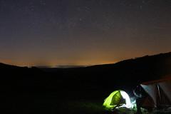 IMG_6556 (Philipp Straner) Tags: longexposure night canon dark stars hiking horizon tent explore