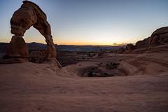 _DSC0155 (Kyohei.I) Tags: sunset usa nature america nationalpark sony arches archesnationalpark sel55f18z 7ii sel1635z