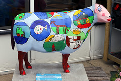 Bella (Cumberland Patriot) Tags: sheep painted go cumbria trust bella calvert ewe cumbrian herdwick goherdwick