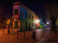 Caminito (karinavera) Tags: road street longexposure travel argentina colors night buenosaires colorful laboca caminito nikond5300