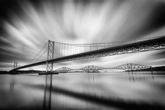 road and rail (D Cation) Tags: scotland firthofforth southqueensferry portedgar roadbridge railbridge leefilters 10stop leebigstopper