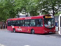 trent barton 681 Ripley (Guy Arab UF) Tags: bus buses solar place market derbyshire ripley trent barton wright 681 scania l94ub fj55abk wellglade wellgladegroup