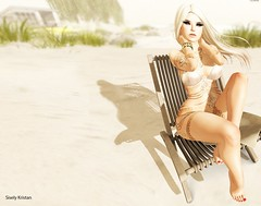 Let this be our final song 2.. (Sistine Kristan (Sisely) - Toolbox Chicks) Tags: maitreya tattoo white widow blueberry womens apparel secondlife blog mesh photography sl gold tableau vivant beach summer