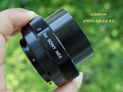 Kenko T mount - Sony Nex (sgear.gallery) Tags: macro closeup mount adapter extensiontube kenko sgearvn