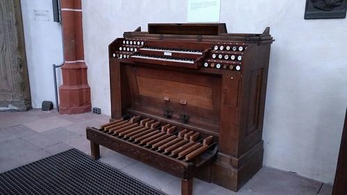 Alte Orgel in der Katharinenkirche Oppenheim