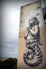 implorons les dieux du foot (YOUGUIE) Tags: paris streetart wd graff graffiti collages pasteup wheatpaste priere enfant coquillage