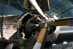 Wasp Major engine at the NMUSAF (atg3v) Tags: ohio usa wasp dwf engine whitney globemaster douglas usaf dayton pratt pw wrightpatterson c124 nationalmuseumoftheusaf r4360 nmusaf waspmajor