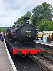 DSCF0891 (SierPinskiA) Tags: diesel pickering steamlocomotive grosmont northyorkshiremoorsrailway diesellocomotive preservationrailways fujixs1