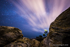 Night Scape moving clouds long exposure. (ronang) Tags: clouds nightscape astrophotography milkyway movingclouds sedili